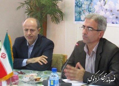 دومین جلسه شورای اداری شهرستان در فرمانداری کردکوی