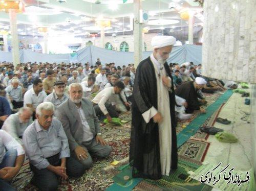 برپایی نماز عید فطر در مصلی کردکوی /تصویری