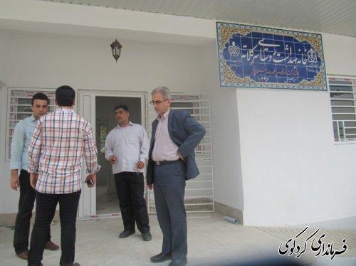 بازدید فرماندار از پروژه های عمرانی شهرستان /تصویری