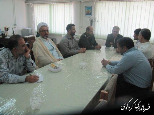 فرماندارکردکوی  از آزاده  وجانبازهشت سال دفاع مقدس دیدار کرد