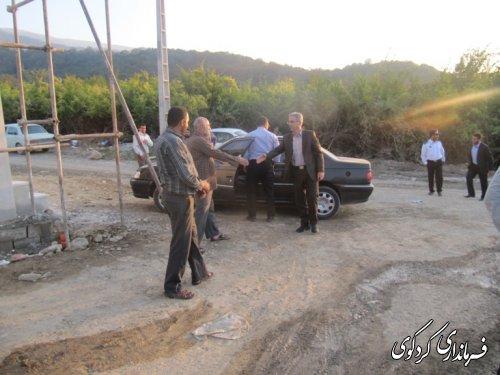 مراسم افتتاح متمرکز پروژه  های عمرانی، اقتصادی، کلنگ زنی و اشتغالزا یی  شهرستان کردکوی/تصویری