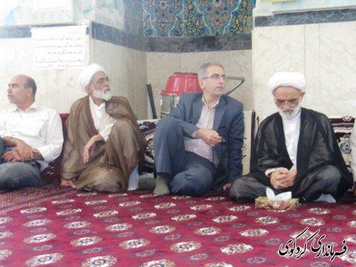 افتتاح خانه عالم روستای میاندره