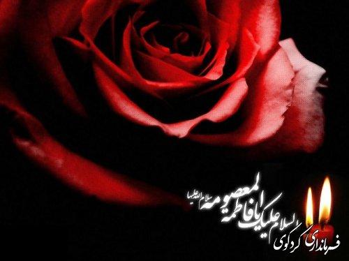 رحلت غریبانه برترین بانوی زمان خود، کریمه اهل بیت، حضرت فاطمه معصومه علیهاالسلام ، تسلیت باد!