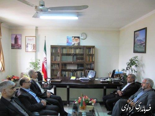 تودیع و معارفه ئ مدیر کمیته امداد حضرت امام (ره)شهرستان کردکوی