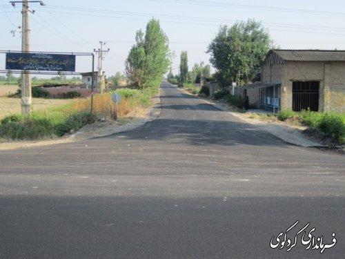 با اعتباری قریب به 6400 میلیون ریال جاده 3 کیلومتری منتهی به مجتمع آموزشی النگ آسف شد