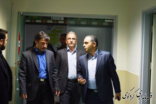 جمالی : افزایش  تختهای بخش فوق تخصصی بیمارستان امیرالمومنین  کردکوی