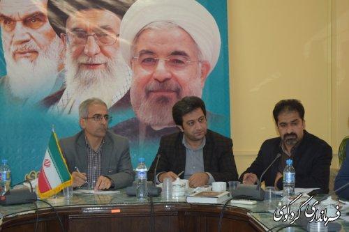 تشکیل جلسه کارگروه بهداشت و سلامت شهرستان کردکوی
