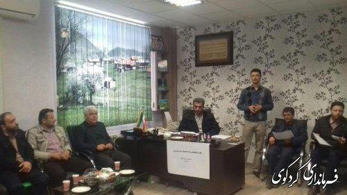 جلسه هماهنگی ستاد تسهیلات خدمات سفر نوروزی کردکوی برگزار گردید