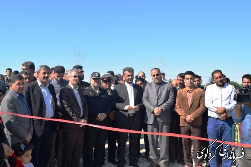 گزارش تصویری از حضور فرماندار از افتتاح کمپ نوروزی النگ