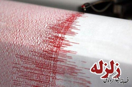 وقوع زلزله در شهرستان کردکوی