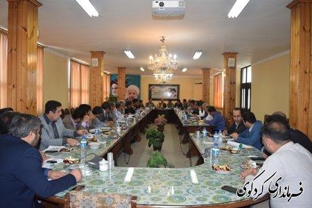 جلسه کمیته برنامه ریزی شهرستان کردکوی در خصوص توزیع اعتبارات برگزار شد.