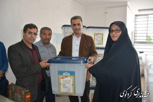 اعزام 5 اکیپ از عوامل برگزاری انتخابات به روستاهای کوهپایه
