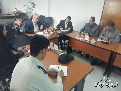شورای هماهنگی مراکز آموزش عالی شهرستان به ریاست فرماندار کردکوی تشکیل شد