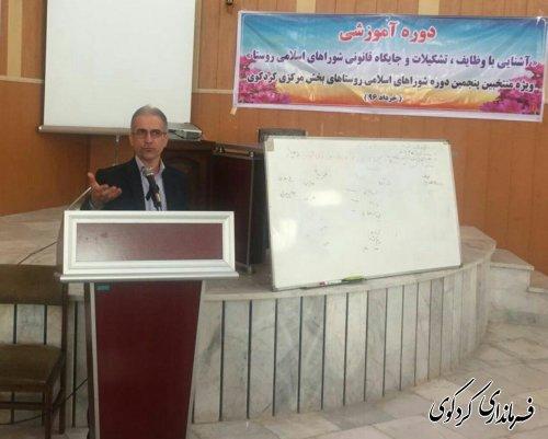 جلب مشارکت مردم در اجرای طرحها و برنامه های روستاها باید یکی از مهمترین اهداف شورا های اسلامی باشد.