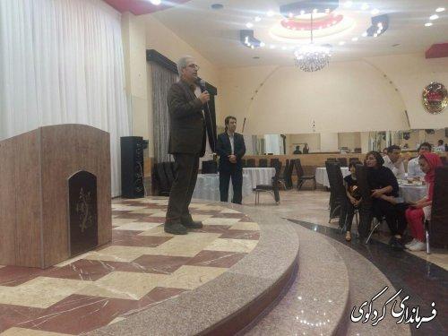 فرماندار کردکوی: سرمایه انسانی مهمترین راز مدیریت هر سازمان است