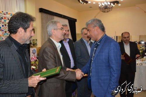 آیین تجلیل از خیرین نیکو کار شهرستان کردکوی با حضور فرماندارکردکوی