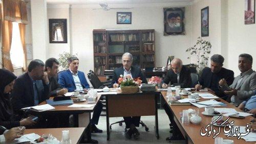 جلسه فوق العاده  اشتغال شهرستان کردکوی برگزار گردید