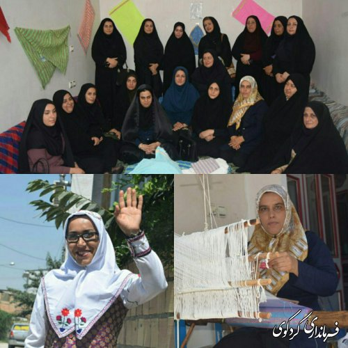 تقدیر از دختران عرصه اقتصاد مقاومتی و کارآفرین شهرستان کردکوی