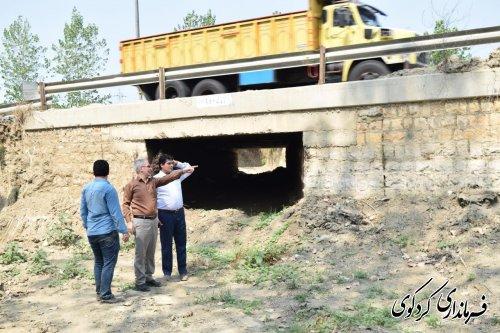 اصلاح و بازسازی پلها با هدف پیشگیری از خسارات سیل با اعتبار ۳۱۵ میلیون تومان