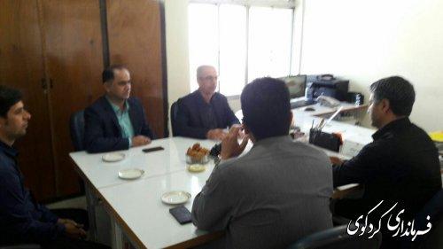 بازدید سرزده جمالی فرماندار کردکوی از ادارات سطح شهرستان