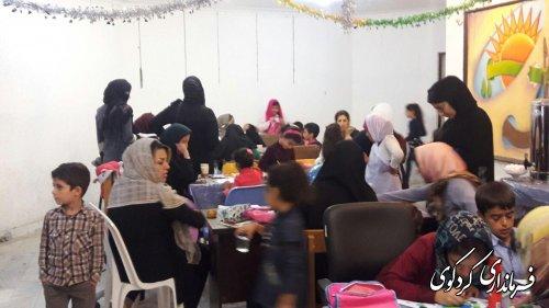 مسابقه نقاشی کودکان در تالار ارشاداسلامی کردکوی برگزار شد