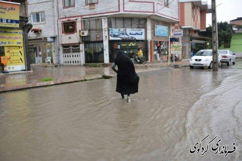 تا کنون گزارشی از خسارات احتمالی بارش شدید باران امروز گزارشی دریافت نشده است