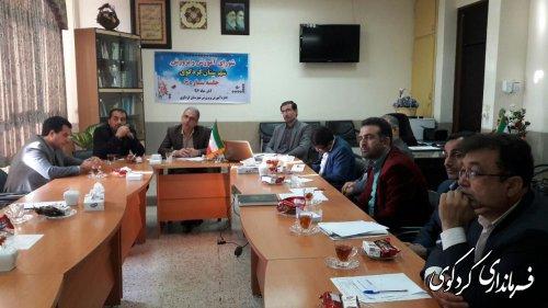 ششمین جلسه شورای آموزش و پرورش شهرستان کردکوی به ریاست جمالی فرماندارکردکوی