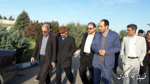 نشست فرماندارکردکوی با مدیران کل دفتر جذب و سرمایه گذاری و  هماهنگی اقتصادی استانداری