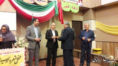 جشنواره شعر و موسیقی دانش اموزان و فرهنگیان شهرستان کردکوی برگزارشد