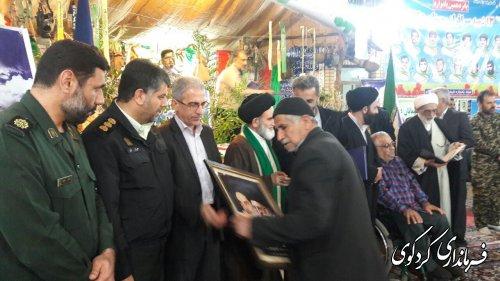 پانزدهمین یادواره شهدای ۱۳ شهید ولامقام روستای دنگلان در مسجد جامع برگزارشد