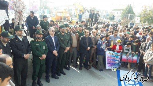 گزارش تصویری از حضور گسترده و باشکوه مردم شهرستان کردکوی و خلق حماسه گرامیداشت ۲۲ بهمن سال ۹۶