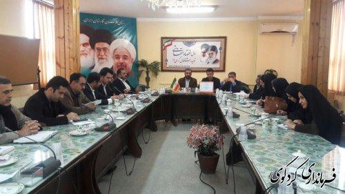 همایش ماهانه دهیاران بخش مرکزی شهرستان کردکوی برگزار شد