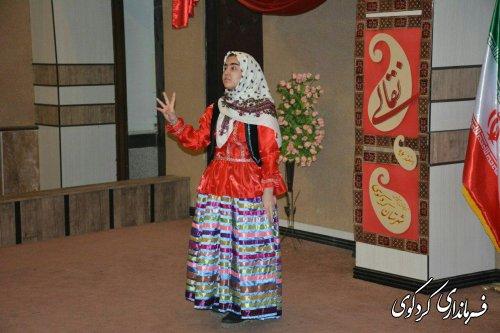 نخستین جشنواره نقالی_شاهنامه خوانی_ دانش آموزی در کردکوی برگزار شد