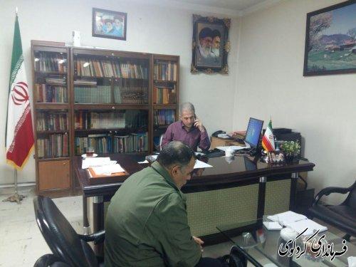 ملاقات عمومی امروز مردم با جمالی فرماندار کردکوی