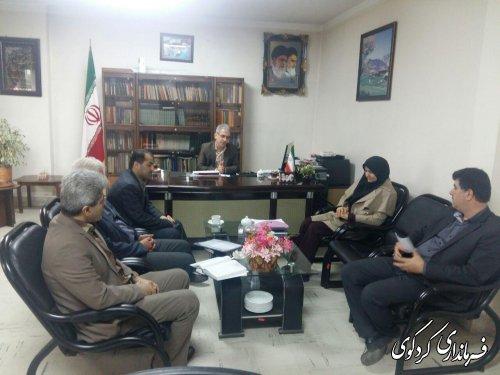 جلسه هماهنگی تنظیم بازار شب عید, با حضور جمالی فرماندارکردکوی و روسای ادارات متولی امرتشکیل شد
