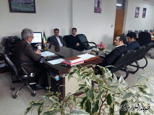 رییس دانشگاه آزاد با هیات همراهی از فرماندارکردکوی دیدار کرد