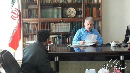 در ملاقات عمومی مردم شریف شهرستان با جمالی فرماندار کردکوی