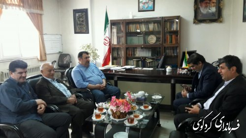 دیدار و تبریک مدیران شهرستان به فرماندارجدید کردکوی
