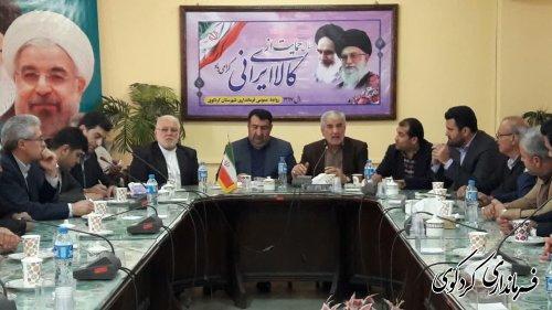 اعضای مرکزی اتحادیه انجمن اسلامی استان و شهرستان باقدمنان فرماندار دیدار وگفتگو کردند