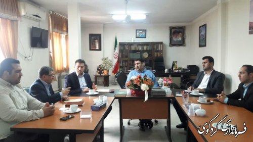 اعضای شورای اسلامی بخش مرکزی شهرستان با قدمنان فرماندار کردکوی دیدار و گفتگو کردند.
