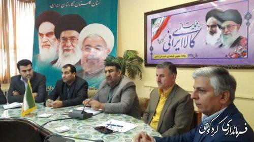 اولین جلسه شورای هماهنگی بانکهای عامل شهرستان  به ریاست فرماندارکردکوی تشکل شد