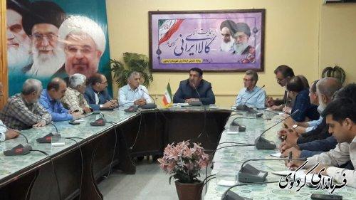 اعضای بنیانگذاران اتحادیه انجمن اسلامی استان گلستان باابراهیم قدمنان فرماندار کردکوی دیدار و گفتگو کردن
