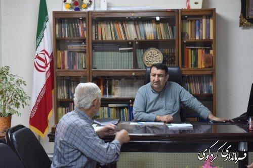 در ملاقات عمومی امروز مردم با قدمنان فرماندار کردکوی دیدار و گفتگو کردند