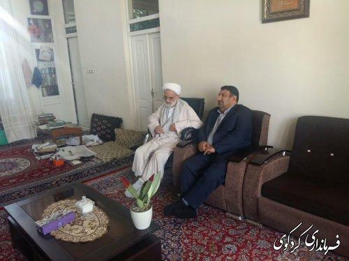 دیدار فرماندار کردکوی با حجت الاسلام شاعری امام جمعه کردکوی