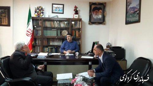 دیدار تعدادی از شهروندان کردکوی با قدمنان فرماندار