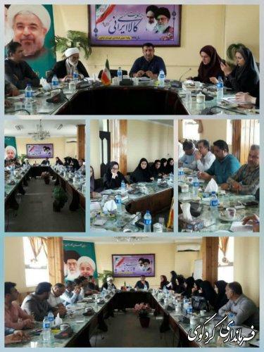 طرح ارتقای توان افزایی و تاب آوری خانواده های حاشیه شهرها در کردکوی اجرایی می گردد