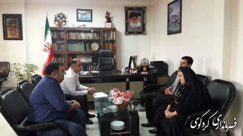 ملاقات عمومی مردم شریف شهرستان کردکوی با فرماندار برگزار شد