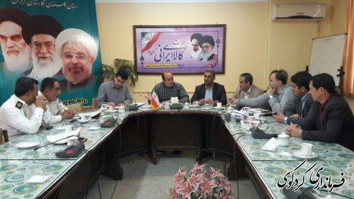 سومین جلسه شورای ترافیک شهرستان برگزارشد