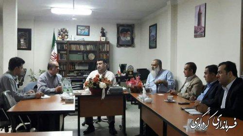 اعضای مجمع خیرین مسکن ساز استان با ابراهیم قدمنان فرماندار کردکوی