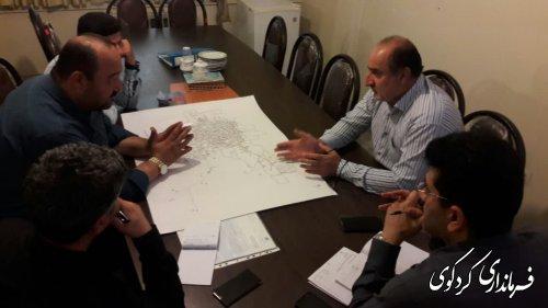 معاون  امور غمرانی فرماندار کردکوی از رودخانه های موجود در سطح کردکوی بازدیدکردند